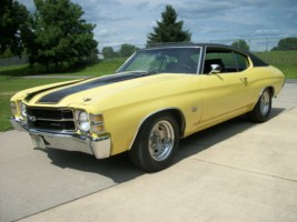 1971 Yellow Chevelle Big Block Bucket Seats Images