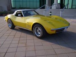 1971 Sunflower Yellow Convertible Images