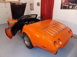 1975 Orange Flame Convertible Images